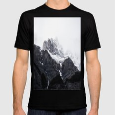 song of the mountains LARGE Mens Fitted Tee Black