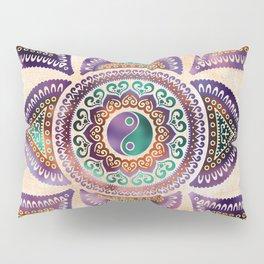 Beautiful Translucent Yin yang symbol pastel Pillow Sham