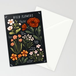 Wild Flowers ~ vol1. Stationery Cards