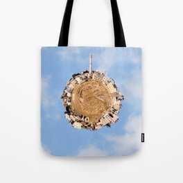 """Worlds in Jerusalem"" - East Jerusalem Neighborhood Tote Bag"