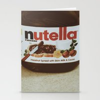 nutella Stationery Cards featuring Nutella by Danielle Clark