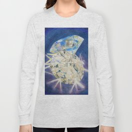 Blue Diamond Long Sleeve T-shirt