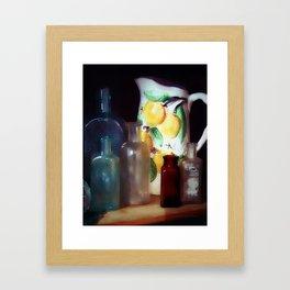 Antiques Framed Art Print