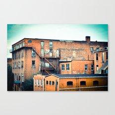 View from a Bridge Canvas Print