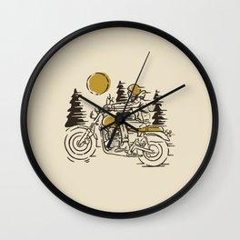 Classic Biker Wall Clock