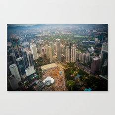 View from the Petronas twin towers Canvas Print