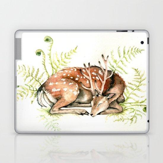 Sleeping Deer Laptop & iPad Skin