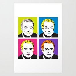 Gough Pops Multi Art Print