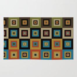 Retro Square Rug