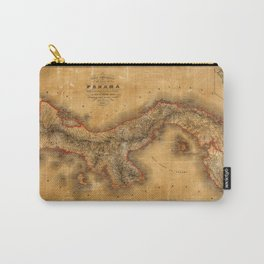 Map of Panama 1864 Carry-All Pouch