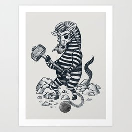 Natures Prisoner Art Print