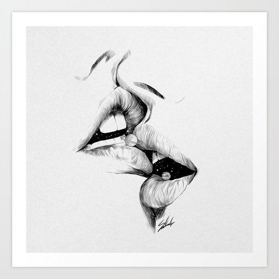 Universe kiss. by moesalah