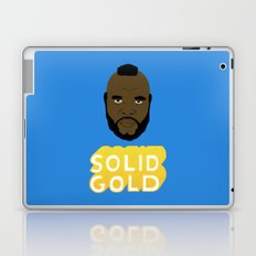 Solid Gold Laptop & iPad Skin