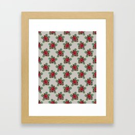 Glowing Hibiscus Framed Art Print