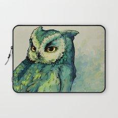 Green Owl Laptop Sleeve