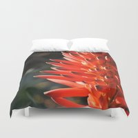 neon Duvet Covers featuring Neon by Mary Curtis