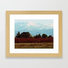 Central Valley, California Framed Art Print