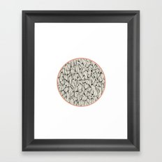 Сircle Framed Art Print
