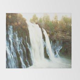 Waterfall of Dreams Throw Blanket