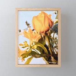 y rose Framed Mini Art Print