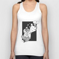 grantaire Tank Tops featuring domestic e/R by voveart.tumblr.com