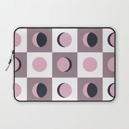 Blush Moon Cycle Laptop Sleeve