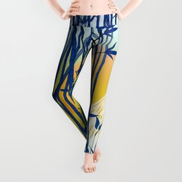 On my way to Mount Fuji Leggings
