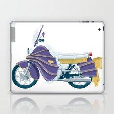 Batgirl's bike Laptop & iPad Skin