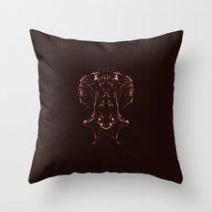 Woman Inside Throw Pillow
