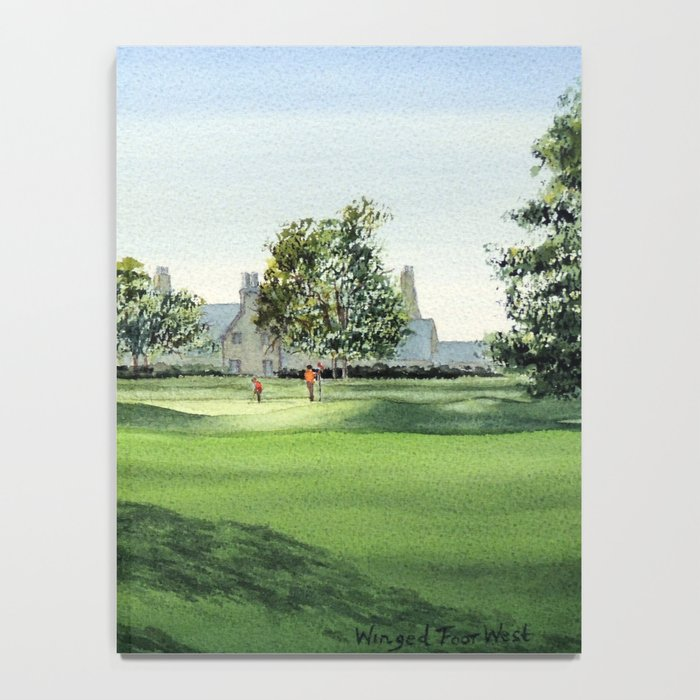 Winged Foot Golf Course New York Notebook