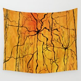 Neural Activity (An Ode to Cajal) Wall Tapestry