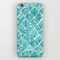 AQUA LIKE A MERMAID iPhone & iPod Skin