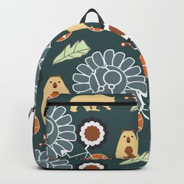 Bikes, bears and flowers Backpack