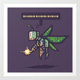RoboFairy Art Print