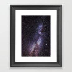 stardust. Framed Art Print