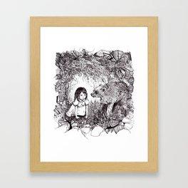 My Brother's a Bear Framed Art Print