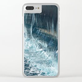 #waterfalls Clear iPhone Case
