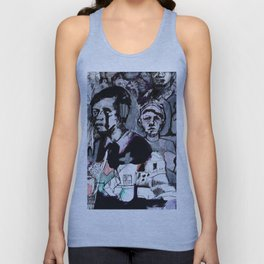 The Purple Mercury People Unisex Tank Top