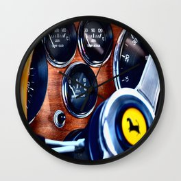 Ferrari Steering Wheel Wall Clock