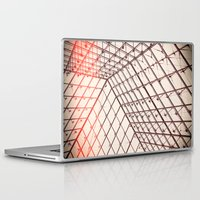 pyramid Laptop & iPad Skins featuring pyramid by shannonblue