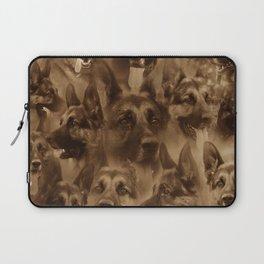 German Shepherd Dog collage Laptop Sleeve