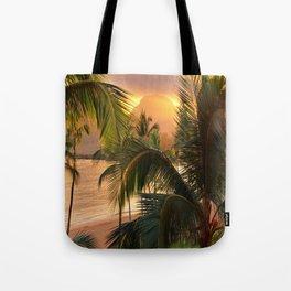 Kauai Tropical Island by OLena Art Tote Bag