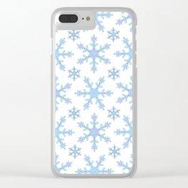 Let it Snow Mix 2 Clear iPhone Case
