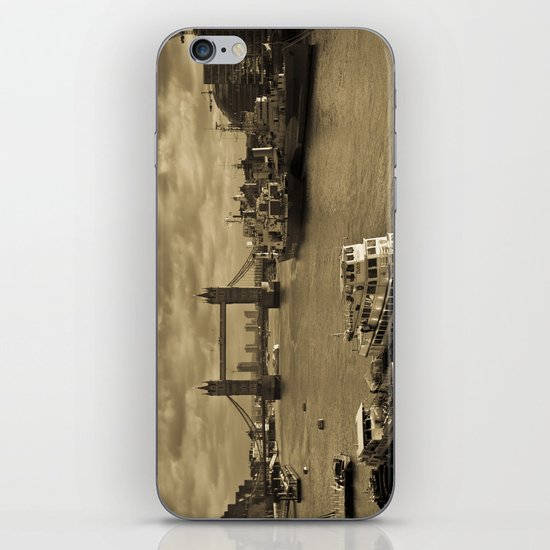 River Thames View iPhone & iPod Skin
