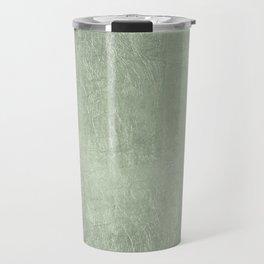 Modern elegant stylish blush green abstract pattern Travel Mug