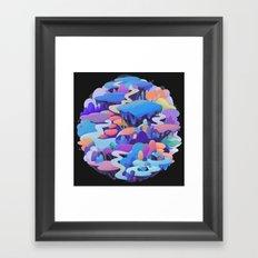 asteroid Framed Art Print