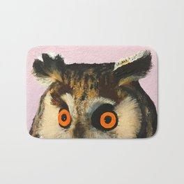 Long-Eared Owl Bath Mat
