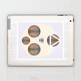 Monkey Head: Circle & Triangle Laptop & iPad Skin