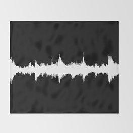 No Way - Music Wave Throw Blanket