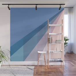 New Heights - Sun Glare Blue Wall Mural